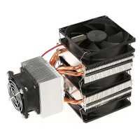 DIY refrigeración Semiconductor Kit 12 V refrigerado por agua del aire acondicionado refrigerador electrónico cabeza agua de la CPU módulo Semiconductor