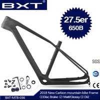 2018 nuevo BXT full carbon mtb frame 27.5er cadre carbone t800 carbon Mountain bike frame 27,5 super light bicycle frame
