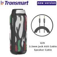 Tronsmart T6 Bluetooth altavoz 25 W columna bajo la caja de altavoz al aire libre Mini música Subwoofer altavoces portátiles 15 H juego