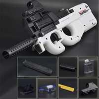 P90 Live CS juguete eléctrico pistola Orbeez Paintball asalto Snipe arma agua suave bala pistola con balas juguetes armas juguetes