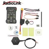Controlador de vuelo de brazo de 32 bits Radiolink Pixhawk PX4 + NEO-M8N GPS + módulo de potencia Pixhawk para soporte Quad Multirotor RC RTL