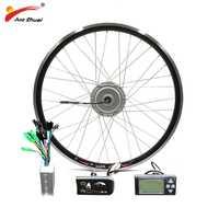 BAFANG 36 V 250 W 350 W 500 W frente 8Fun de rueda de Motor sin escobillas de Motor de cubo Ebike bicicleta bicicleta motor CE envío gratis