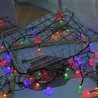 Led Solar 30LED impermeable Solar Garland exterior luces solares lámpara Solar fiesta de Navidad decoración de jardín tiras de luces