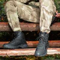 Zapatos de seguridad Zapatos Hombre botas militares Anti-colisión de la puntera táctica militar zapatos para hombres Indestructible botas ejército botas de desierto