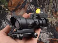 Trijicon táctico estilo acog 4x32 Rifle alcance y 1x docter punto rojo tiro de caza M2833 M7830