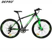 Depro profesional 21 montaña Bicicletas aluminio Marcos suspensión Tenedores frenado bicicletas 26 pulgadas MTB Road Racing Bicicletas
