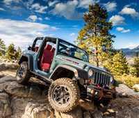 Gleagle1/24 jeep modelo Pastor Rubicon 10th Anniversary Edition Cs-003
