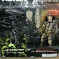 Alien Vs Predator juguetes figura del extranjero Predator figura de acción de una pieza figuras de acción y Juguete figuras PVC modelo Juguetes