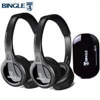2 paquetes de función de Radio Sonido Envolvente auriculares inalámbricos de Tv para Xbox 360 PS4 juego Samsung Lg Sony TV