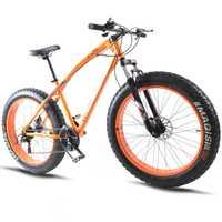 Casdona 7/21/24/27 velocidad bicicleta de montaña * 26*4,0 grasa de neumáticos de bicicletas amortiguadores de la bicicleta ENTREGA GRATUITA moto de nieve