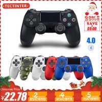 4,0 Bluetooth Gamepad para PS4/PS3 mando inalámbrico para Sony Playstation 4 Juego Joypad para Dualshock4/PC windows