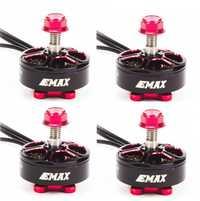 4 ensemble/lot EMAX RSII 2206 1600KV 1700KV 1900KV 2300KV 2700KV moteur CW CCW pour FPV RACER quadrirotor Kvadrokopter RC Drone avion