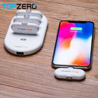FingerPow Mini de carga magnética externa dedo Pow de emergencia de energía móvil portátil móvil cargador rápido de Banco de potencia