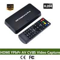 Ezcap295 GDCP decodificador OBS Live HD captura de vídeo Pro HDMI 1080P grabadora USB Flash reproducción de disco para Xbox 360 PS3 PS4 Set-Top Box