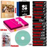 Nueva kpop BTS bangtan niños/postal/retrato/marcador/CD/carteles/firma foto/etiqueta engomada apoyo regalo colección