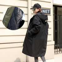 2018 invierno chaquetas de algodón acolchado abrigos Casual capucha Parkas mujeres más tamaño primavera otoño Windbreaker Manteau Femme N16