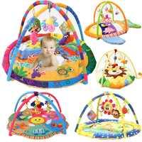 Nouveauté doux bébé tapis de jeu bébé musique tapis de jeu jouets éducatifs enfants tapis enfants tapis de jeu nouveau-né tapis de Gym avec cadre