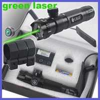 Táctico rifle punto láser verde lugares sitios visores fuera ajustar con montaje