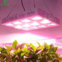 COB LED crece la luz 600 W 1200 W lleno espectro LED planta crecer el Panel de la lámpara para las plantas de interior todos etapa semillas de verduras Bloom iluminación