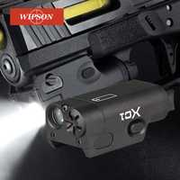 WIPSON SF XC1 pistola MINI pistola de luz LED arma táctica luz Airsoft militar caza linterna para GLOCK envío gratuito