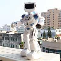 Inteligente inteligente alfa Robot K3 hidroeléctrica híbrido inteligente Robot RC/Control cantar sonido Robot regalo de los niños