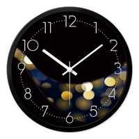 Nuevo moderno mudo Reloj de pared decorativo diseño Duvar Saati decoración círculo puntero Reloj de cuarzo la comparación