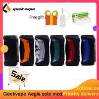 Original GeekVape auspicios Solo mod 100W Vape mod 18650 batería para Tengu RDA E cigarrillo Fit 510 E caja de cigarrillo mod
