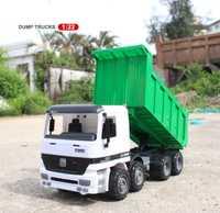 Camión volquete de gran tamaño 1/22 camión transportador coche juguete niños playa modelo inercia camiones coche camión niño aprendizaje juguete regalos