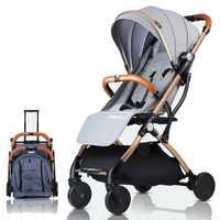 Cochecito de bebé avión ligero portátil viajar cochecito niños cochecito 4 regalos gratis 3 Dollar cupones