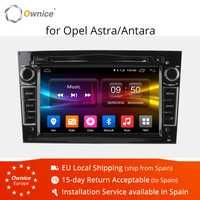 Ownice C500 Octa Core Android 6,0 reproductor de DVD del coche para Opel Astra H Vectra Opel Corsa Zafira, B, C, G con 2 GB de RAM, soporte en la red 4G LTE