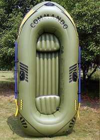3 personas barco inflable barco de pesca al aire libre deriva kayak barco inflable piscina flotador 0,45mm PVC agua espesada esquí barco