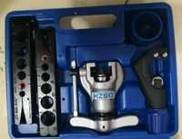 Kit de expansor de Tubo Métrico de CT-808 pulgadas y aire acondicionado tubo de cobre tubo de reamer tubo de arado herramienta 6-19mm 1/4-3/4 pulgadas