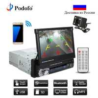 Podofo auto Audio estéreo de Radio Bluetooth 1DIN 7