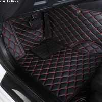 Tapis de sol de voiture Auto Believe pour pajero sport 4 grandis lancer outlander xl 2017 2013 tapis imperméable accessoires de voiture