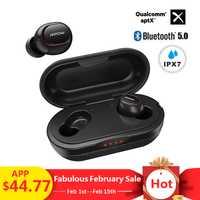 Mpow ipx7 impermeable T5 TWS Auriculares auriculares inalámbricos Bluetooth 5,0 auriculares apoyo Aptx 36 h tiempo para iPhone Xiaomi
