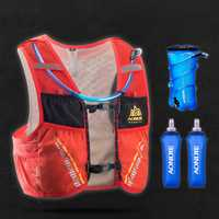 AONIJIE sac d'hydratation sac à dos sac à dos gilet harnais vessie d'eau randonnée Camping course Marathon escalade 5L
