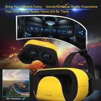 VR 3D Realidad Virtual gafas casco cartón auriculares estéreo caja VR dispositivos para Samsung Android iOS teléfonos inteligentes