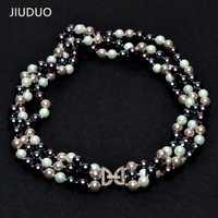 Collar de perlas de concha de Mar del Sur envío gratis Natural perla tres modelos femeninos de lujo para enviar a amigos para compartir del desgaste