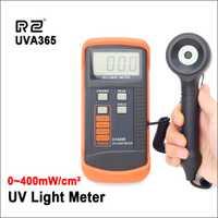 RZ 400 m W/cm medidor de luz UVA y UVB LSI circuito Tester Sensor UV luz Corrección filtro radiómetro UV probador UVA365
