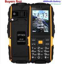 ¡Original DTNO! me A9 IP67 impermeable a prueba de golpes a prueba Dual SIM teléfono móvil 4800 mAh FM linterna teléfono celular puede agregar el teclado ruso