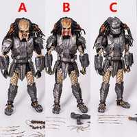 Nuevo NECA AVP Alien VS depredador 33 cm 1/6 escala cicatriz depredador MMS190 PVC figura de acción de colección modelo juguetes regalos