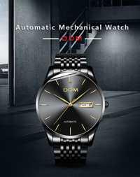 Reloj para hombre, relojes para hombre, pulsera de acero de lujo, resistente al agua, reloj retro moderno minimalista único