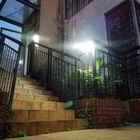 Luz de pared decoración noche patio impermeable al aire libre multifunción cuerpo inducción lámpara Solar hogar jardín ABS Led césped