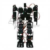 17DOF bípedo robótico educativo Robot Kit servo bracket Ball bearing con MG996R servos y 32CH controlador para Arduino