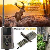 Suntek 16MP Cámara sendero salvaje caza cámaras MMS 2G GSM SMS HC550M versión de la noche foto de trampa de Vida Silvestre cámara de vigilancia