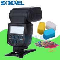 Viltrox JY-680A LED flash speedlight para Canon EOS 1300D 800D 760D 750D 700D 650D 80D 77D 70D 60D 7D 6D 5Ds 5Ds R 5D Mark IV/III