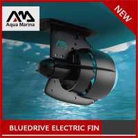 BLEU PUISSANCE D'ENTRAÎNEMENT AILERON AQUA MARINA 12 v Batterie Électrique À Ailettes Tiennent le Conseil De Palette SUP Planche de Surf Kayak planche de Surf rechargeable