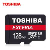 TOSHIBA tarjeta micro sd de 128 GB Clase 10 SDXC UHS1 3,0 90 MB/S tarjeta de memoria TF/tarjeta SD tarjeta Micro SD U3 memoria Flash para teléfono/cámara