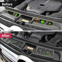 Couvercle de protection d'entrée d'air du moteur pour Mercedes Benz ML350 2012 GLE W166 coupé C292 GLS gl véhicule empêchant la poussière articles divers