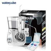 Cuidado Dental agua pulso recargable agua Pick dientes limpieza oral irrigador V660 dental water jet flosser con 5 unids consejos jet